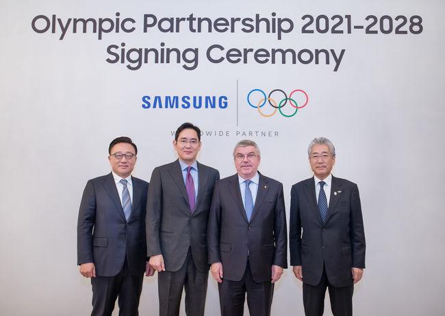삼성전자, 2028년 LA까지 올림픽 후원 연장...IOC와계약