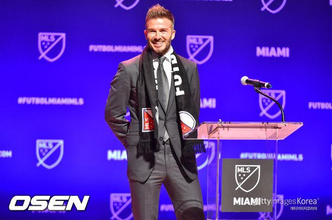 MLS 구단주 베컴의 의욕, 이번엔 네이마르에 추파