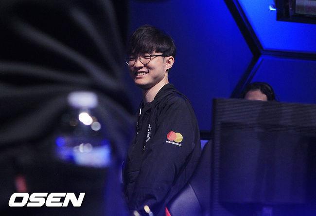 [사진] 페이커 이상혁, 승리의 환한 미소