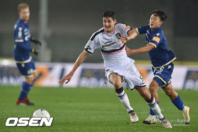 이승우 87분 베로나, 베네벤토 1-0 제압...7경기 무승 탈출