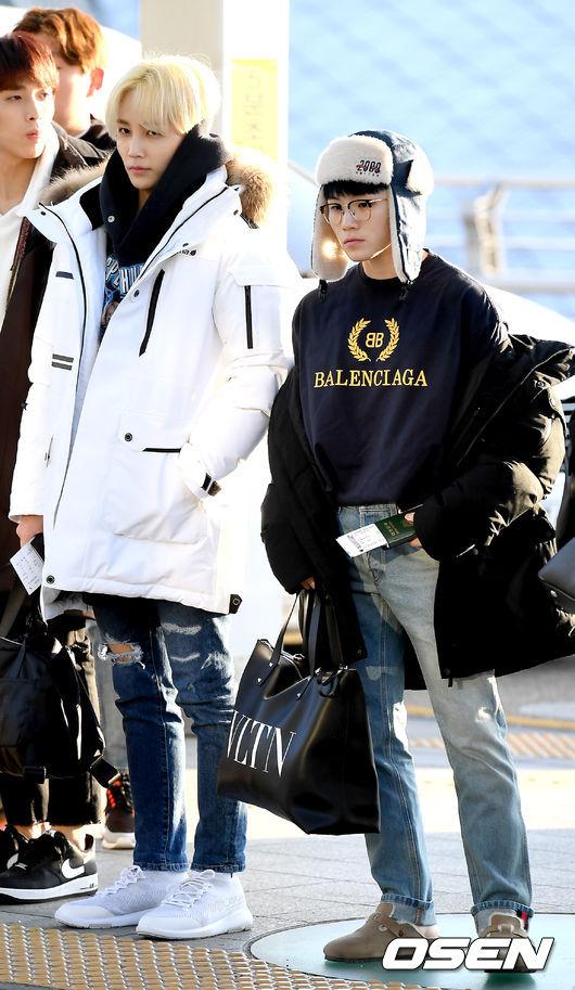 [사진]세븐틴 정한-우지,센스 넘치는 패션