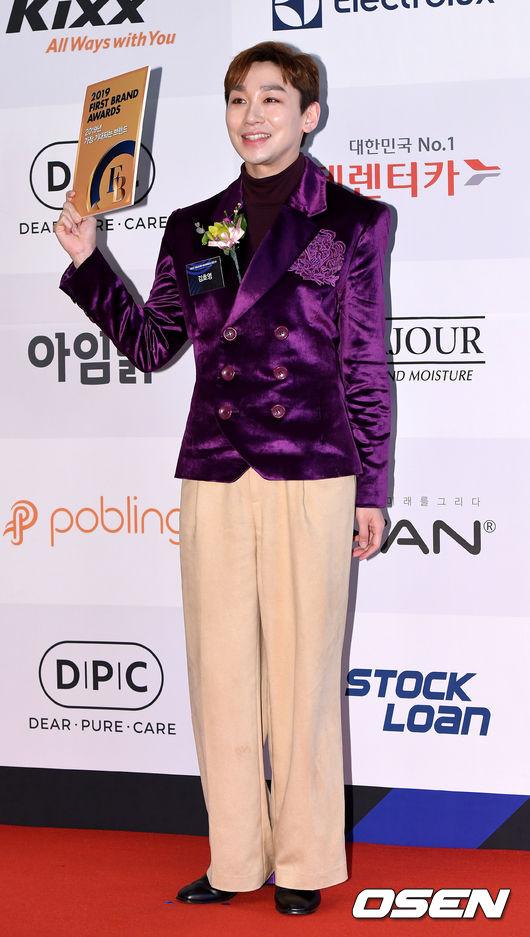 [사진]김호영, 멋지게 차려입고 시상식에