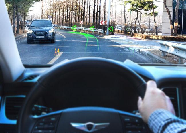 [CES 2019] 차 내비에 들어온 증강현실, G80에 최초 탑재 돼 공개
