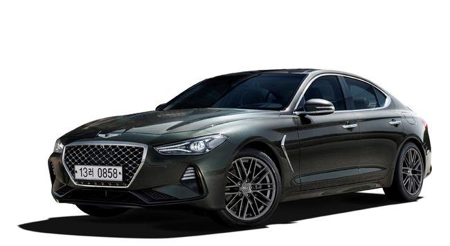 제네시스 G70, '북미 올해의 차' 따냈다...혼다 인사이트볼보 S60과 경쟁