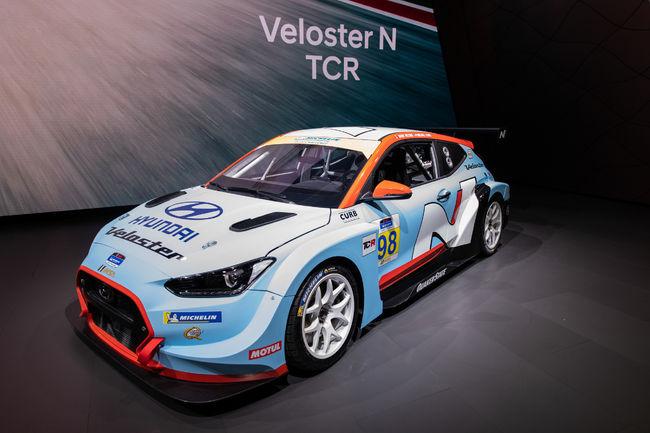 [2019 디트로이트 모터쇼] 현대자동차,고성능 경주차 '벨로스터 N TCR' 첫 공개
