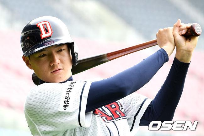 [사진]김문수, 힘찬 스윙