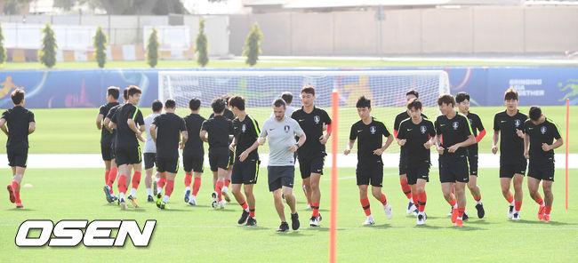 [사진]16강전 앞둔 축구대표팀,다시 훈련 시작해요