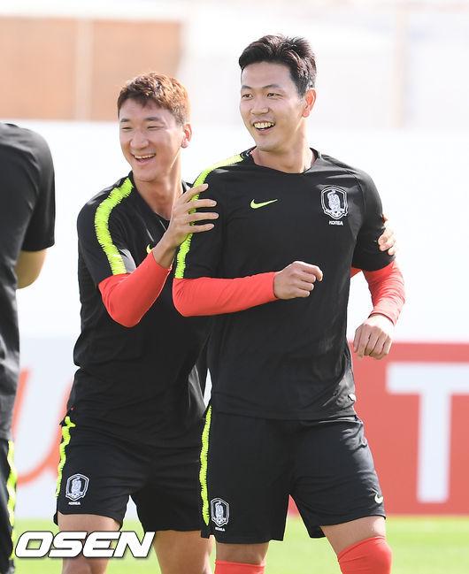 [사진]정우영-김영권,대표팀의 든든한 수비수