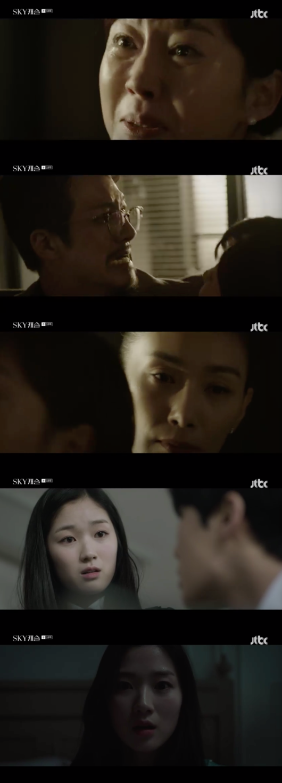 SKY캐슬 정준호, 김서형 찾아가 멱살 잡았다..김혜윤 퇴학 악몽