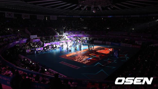[사진]대전에서 처음 열리는 V리그 올스타전