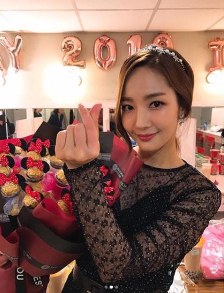 타이페이 첫 팬미팅 박민영, 전세계로 뻗어가는 여신美[★SHOT!]