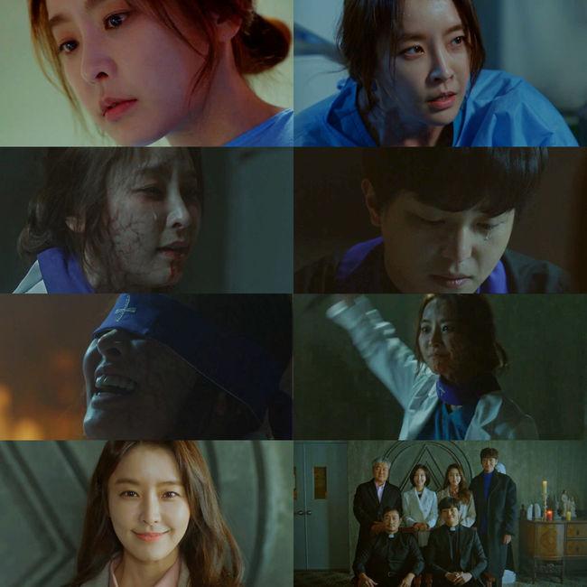 종영 '프리스트' 정유미, 엑소시즘도 섭렵..한계 없는 캐릭터 소화력