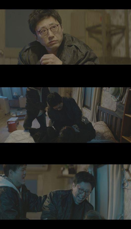 조들호2 박신양, 목숨 걸고 구한 테러범에 분노 폭발