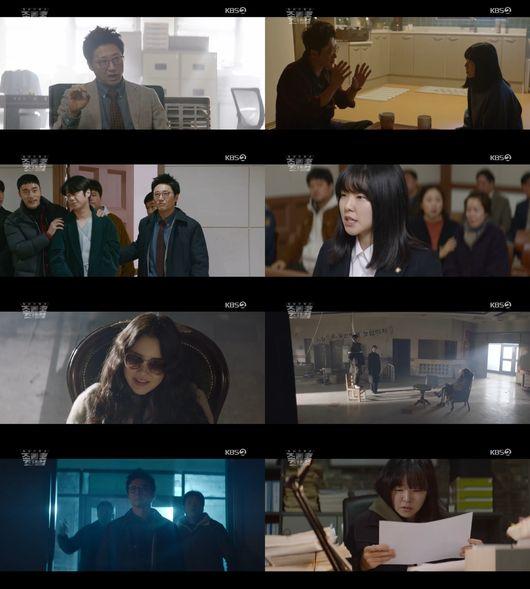조들호2 박신양, 독기 터졌다..고현정 무너뜨리기 반격 시작