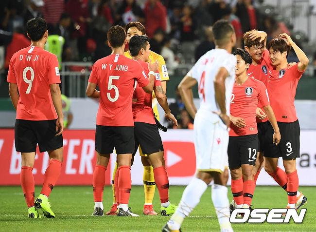 [사진]8강진출 축구대표팀,우리가 마지막에 웃었어