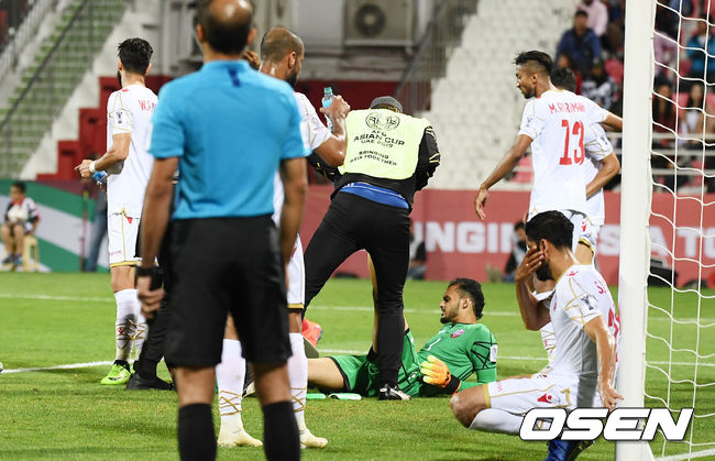 [사진]바레인 침대축구 시작?