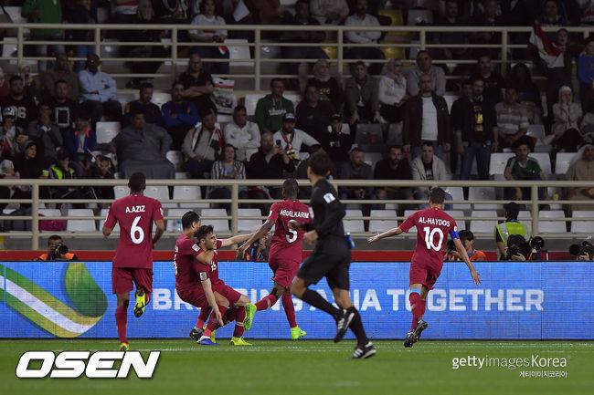 카타르, 이라크에 1-0 신승... 한국의 8강전 상대로 확정[아시안컵]