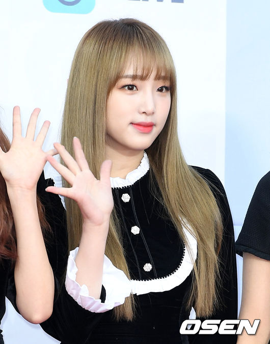 [사진]아이즈원 최유나,사랑스런 금발