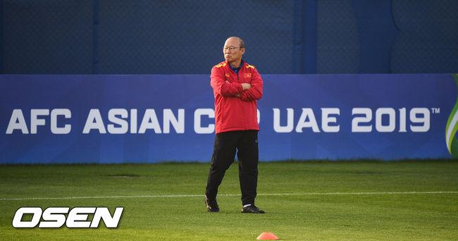 [사진]박항서 감독,베트남의 아시안컵은 계속된다