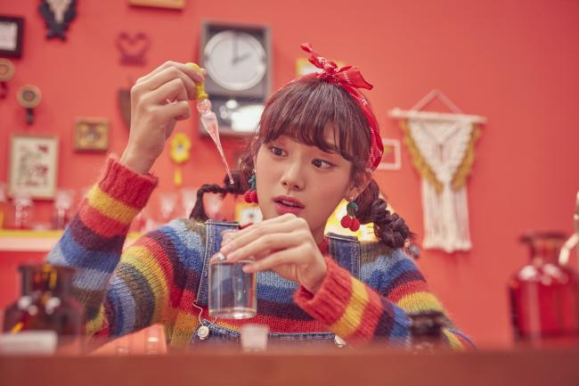 사랑에 빠진 소녀..민서, 이번엔 러블리[Oh!쎈 컷]
