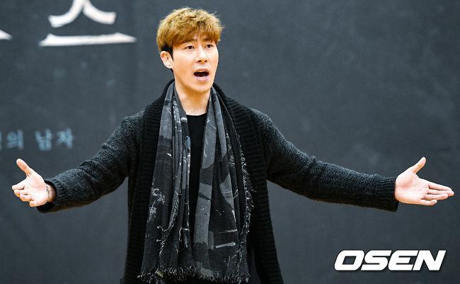 [사진]박은석, 연습도 진지하게