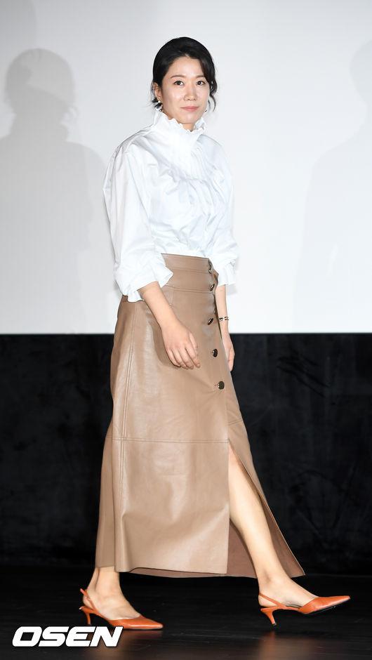 [사진]전혜진,우아한 자태 뽐내며 입장
