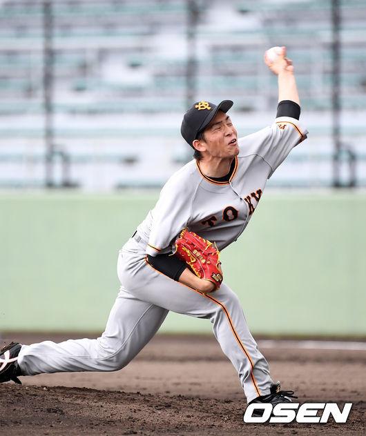 [사진]요미우리 선발 타카하시