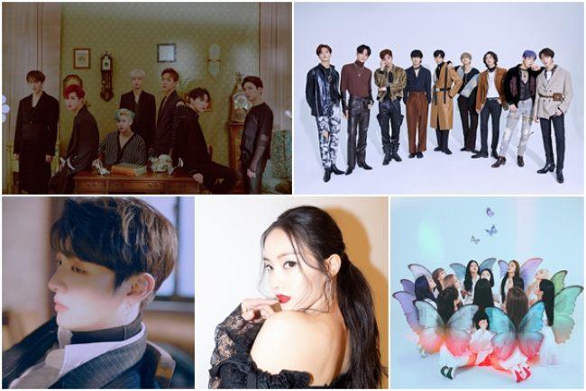 몬스타엑스효민SF9, 오늘(21일) 엠카로 컴백..윤지성 솔로 데뷔[공식입장]