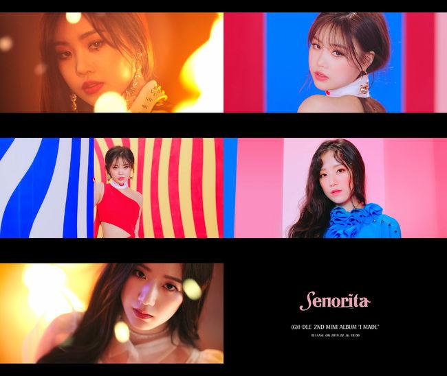 (여자)아이들,  Senorita MV 티저 공개...빠져드는 중독성 [Oh!쎈 컷]