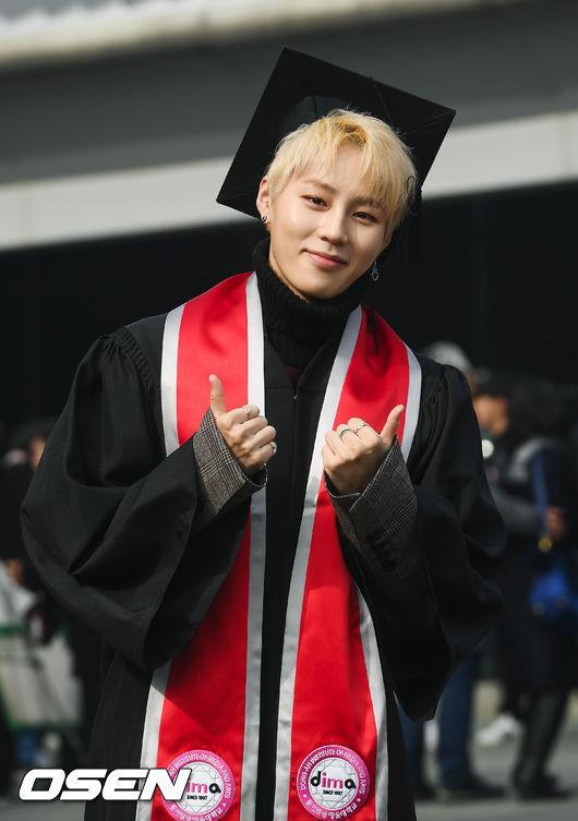 [사진]워너원 하성운,저 대학교 졸업해요