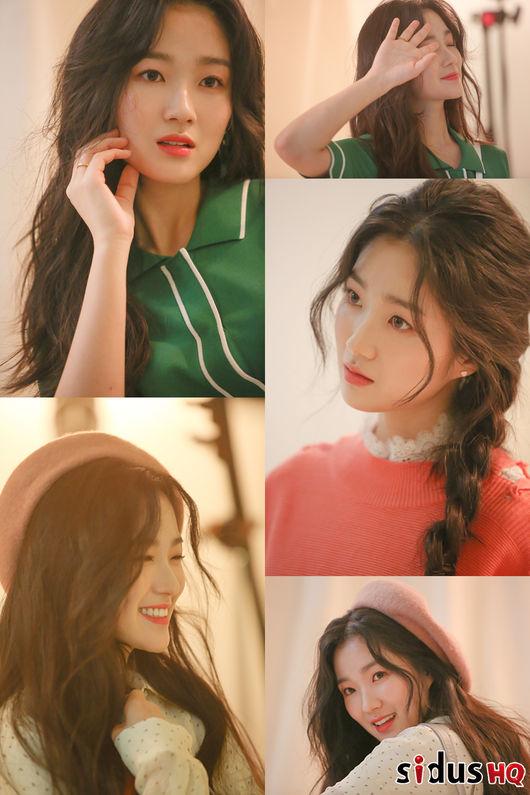 김혜윤, 화보 비하인드 컷 공개...봄처럼 기분 좋아지는 상큼 매력 [Oh!쎈 컷]
