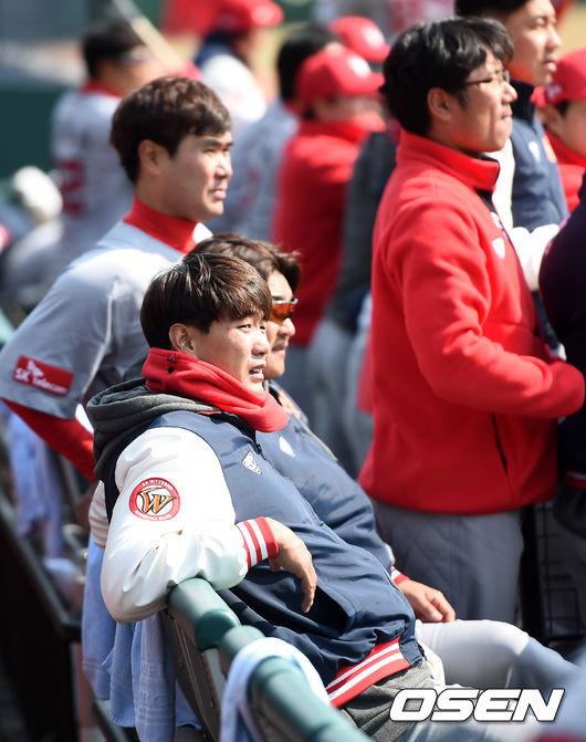 [사진]김광현, 진지한 눈빛