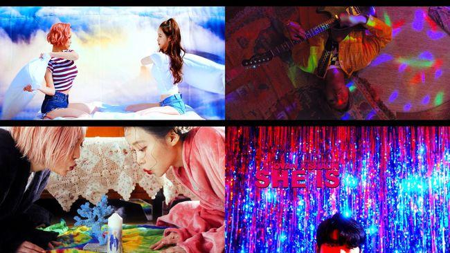 오반X숀, 믿고 듣는 펑키 레트로...콜라보 She is MV 티저 공개