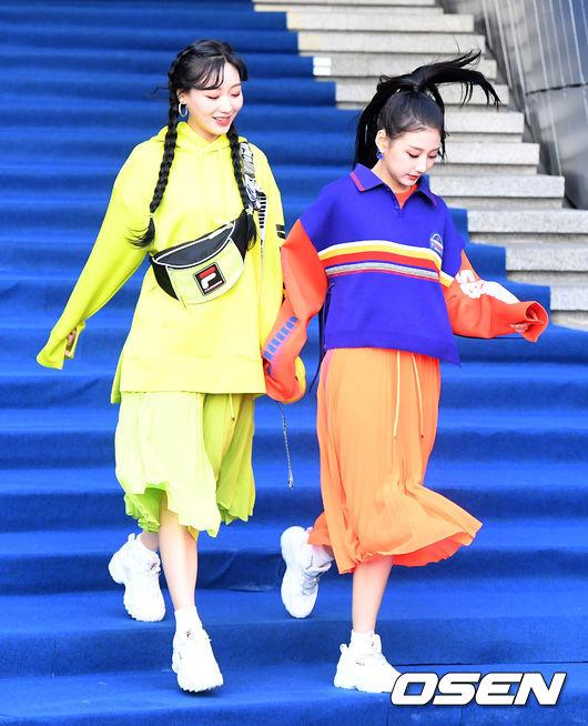 [사진]러블리즈 수정-예인, 즐거운 패션위크