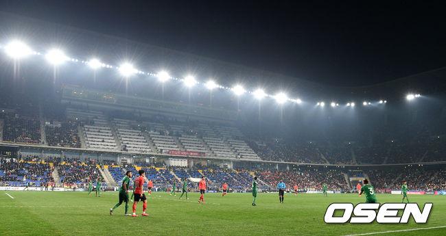 [사진]한국-볼리비아,경기장 뜨거운 응원 열기