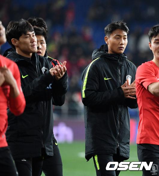 [사진]이강인-백승호, A매치 데뷔는 다음 기회에
