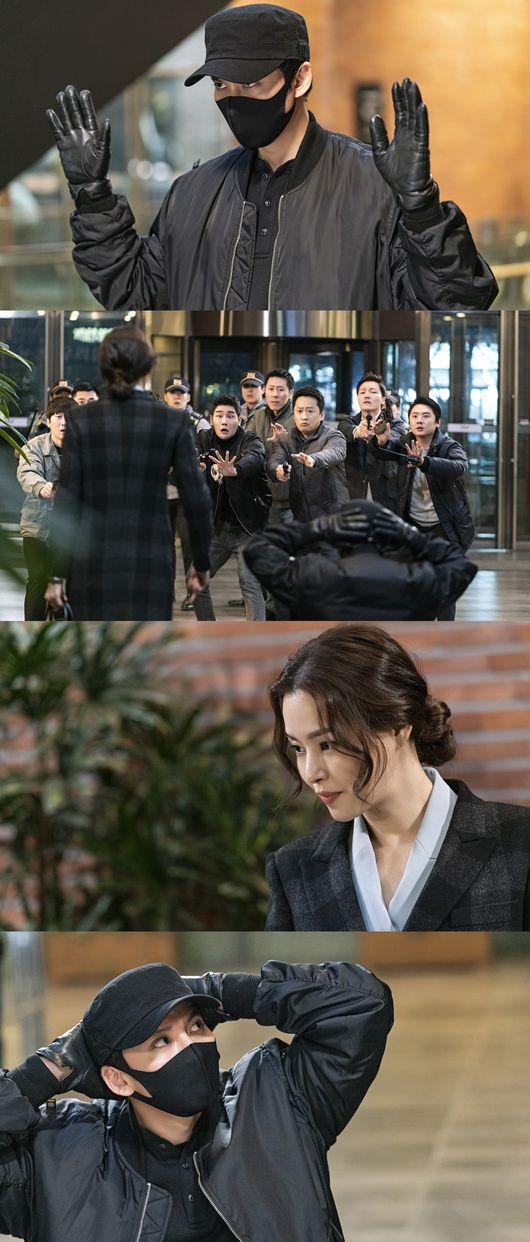 열혈사제 김남길, 경찰 체포 위기? 이하늬 깜짝 등판..예측불가 전개