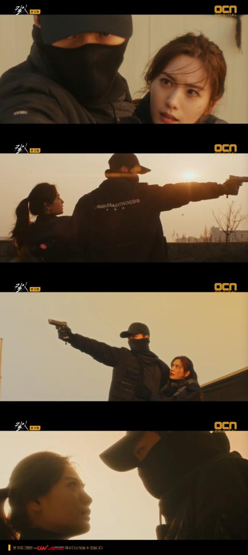 '킬잇' 장기용, 위장잠입한 나나 구했다..마피아 로빈 데이아나 겨눈 총 [종합]