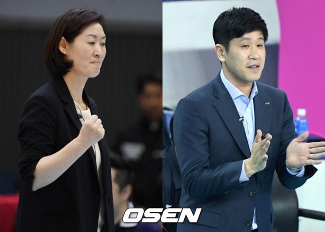 """'끝내자' 박미희 vs '끝까지' 김종민…공통 해법 """"선수들에게 맡긴다"""""""