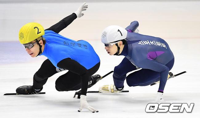 [사진]황대헌-이정수,나란히