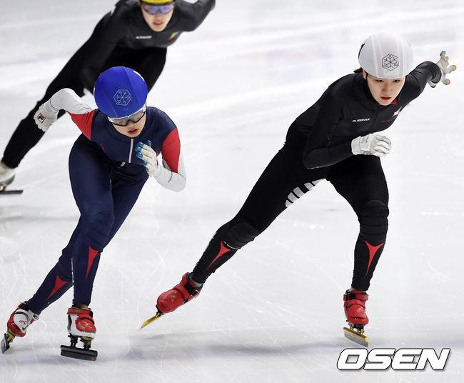 [사진]노도희-김이현,치열한 선두다툼