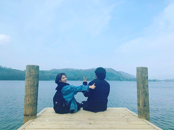 박신혜, 친오빠 만나러 영국行..몇 달만에 만나도 티격태격 [★SHOT!]