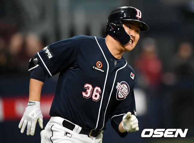 KBO 최강 타선 두산, 리그 득점 1위 탈환 [오!쎈 현장분석]