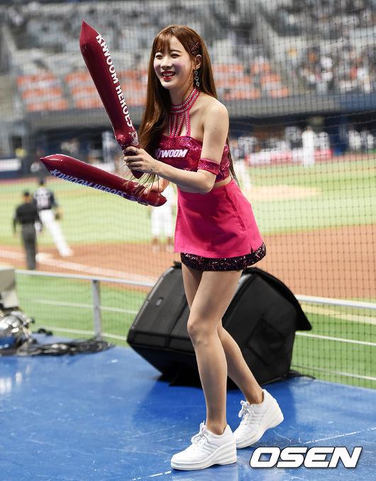 [사진]키움 김한나, 상큼한 미소