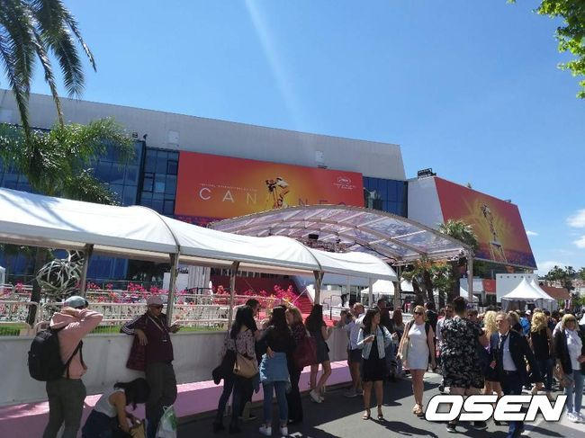 [OSEN=칸(프랑스), 하수정 기자] 칸영화제가 열리는 뤼미에르 극장 모습