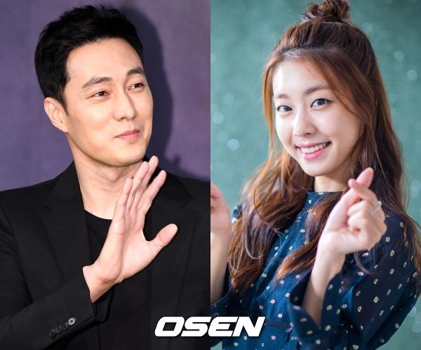 배우 소지섭(왼쪽), 아나운서 출신 조은정(오른쪽)/ OSEN DB