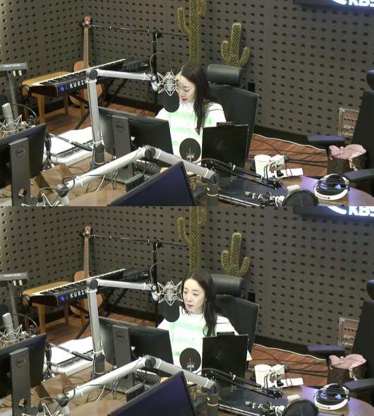 [사진] KBS 라디오 '박은영의 FM대행진' 방송 캡처