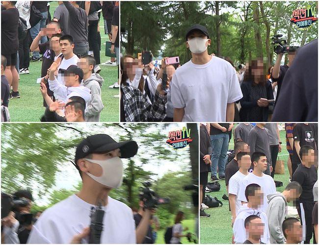 [사진=MBC 제공] '섹션' 박형식 입대 현장 스틸 컷