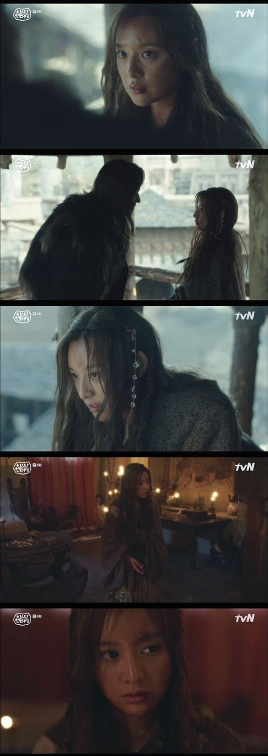 [사진=tvN 방송화면] '아스달 연대기' 6회 김지원