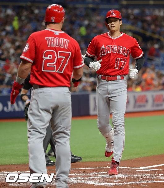 또 터졌다 오타니, 스리런 홈런...6월 6번째 홈런(1보)